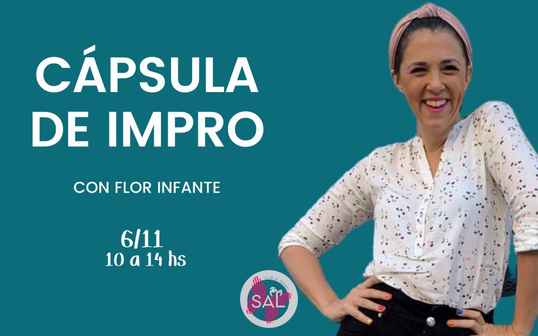 Cápsula de Impro con Florencia Infante – INTENSIVO